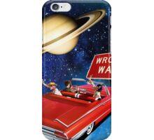 Wrong Way iPhone Case/Skin