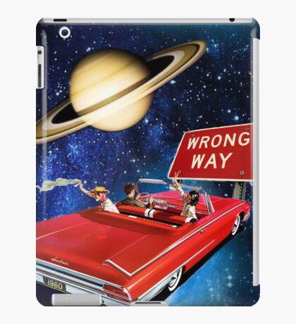 Wrong Way iPad Case/Skin