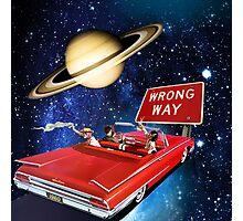 Wrong Way Photographic Print