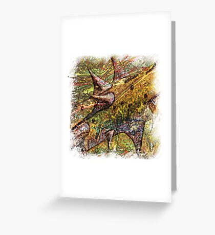The Atlas Of Dreams - Color Plate 138 Greeting Card