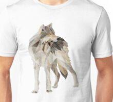 Lone Grey Wolf Unisex T-Shirt