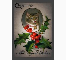 Christmas Cat Unisex T-Shirt