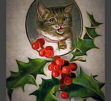 Christmas Cat by James E. Thomas