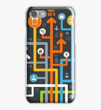 Arrow office iPhone Case/Skin
