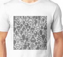 Background a bulb Unisex T-Shirt