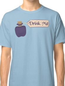 Alice in Wonderland Drink Me Bottle - Whimsical T Shirt Classic T-Shirt