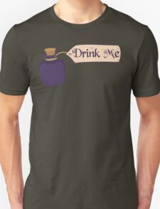 Alice in Wonderland Drink Me Bottle - Whimsical T Shirt T-Shirt