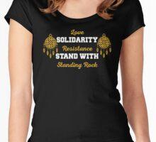 Standing Rock Shirt Women's Fitted Scoop T-Shirt