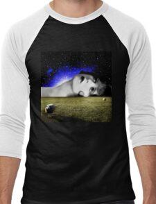 Counting Sheep Men's Baseball ¾ T-Shirt