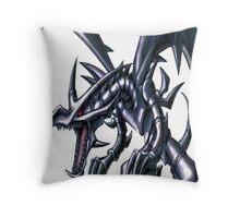 red eyes black dragon yugioh Throw Pillow