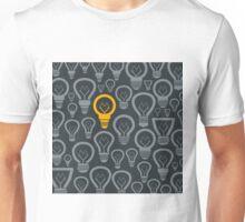 Background a bulb2 Unisex T-Shirt