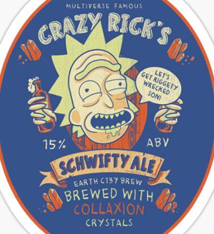 Rick's Schwifty Ale Sticker