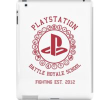 Playstation Battle Royale School (Red) iPad Case/Skin