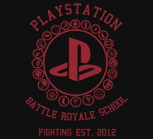 Playstation Battle Royale School (Red) by Nguyen013