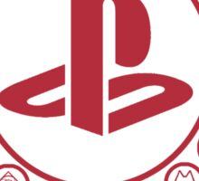 Playstation Battle Royale School (Red) Sticker