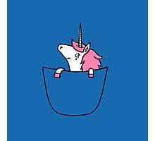 Pocket Unicorn  Photographic Print
