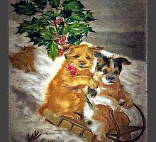 Dog Sled by James E. Thomas