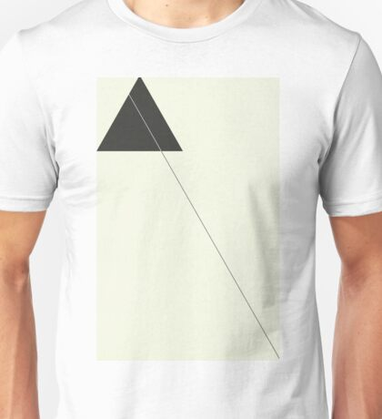 Minimalism and Triangles Unisex T-Shirt