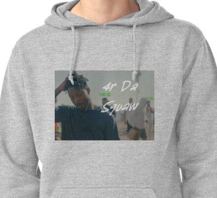 Isaiah Rashad  - 4r Da Sqauw Pullover Hoodie