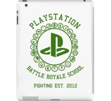 Playstation Battle Royale School (Green) iPad Case/Skin
