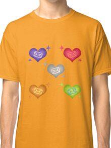 Mystic Messenger - Hearts Classic T-Shirt