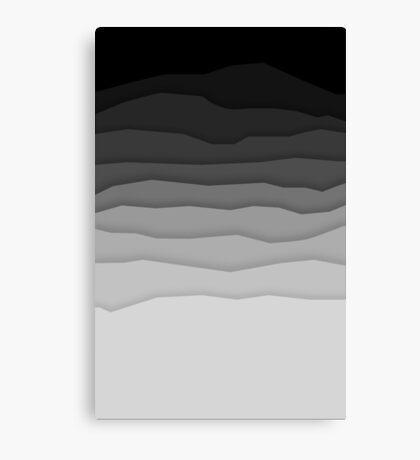 Shadow Landscape Canvas Print