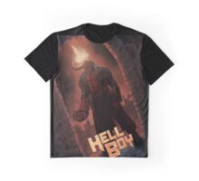 Hell Boy Fan Poster Graphic T-Shirt