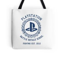 Playstation Battle Royale School (Blue) Tote Bag