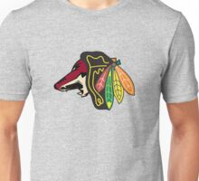 Phoenix Blackhawks - Chicago Coyotes Unisex T-Shirt