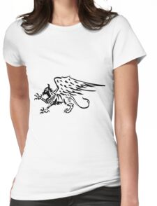 lion arts Womens Fitted T-Shirt