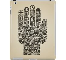 Hand office iPad Case/Skin