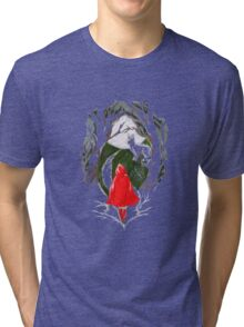 Little Red Tri-blend T-Shirt