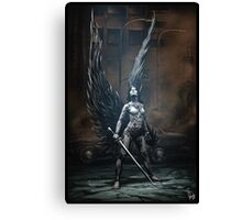 Robot Angel Painting 002 Canvas Print