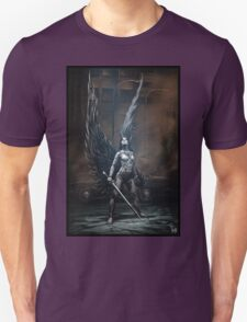 Robot Angel Painting 002 T-Shirt