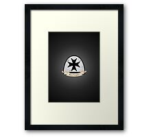 Black Templars - Chapter - Warhammer Framed Print