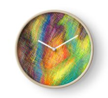 Abstract Lines Clock