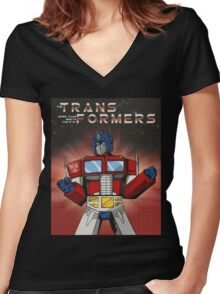 More Than Meets The Eye Women's Fitted V-Neck T-Shirt