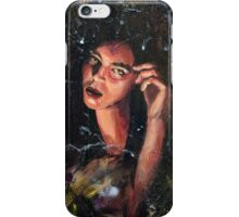 Witch with a Cat (Russian Vedma) iPhone Case/Skin