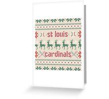 Christmas St. Louis Cardinals Greeting Card