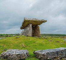 Poulnabrone Dolmen, Galway, Ireland by Mark Bangert