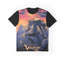 Blue Voltron Graphic T-Shirt