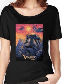 Blue Voltron Women's Relaxed Fit T-Shirt