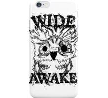 Wide Awake Owl iPhone Case/Skin