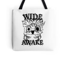 Wide Awake Owl Tote Bag
