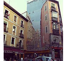 Street Art In Madrid Photographic Print