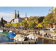 Autumn Promenade Photographic Print