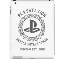 Playstation Battle Royale School (Grey) iPad Case/Skin