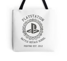 Playstation Battle Royale School (Grey) Tote Bag