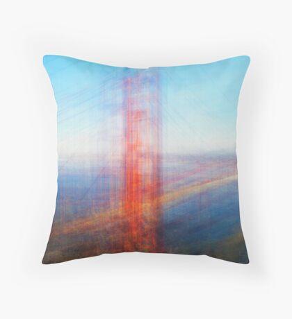 Average Golden Gate Bridge Throw Pillow
