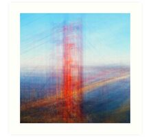Average Golden Gate Bridge Art Print